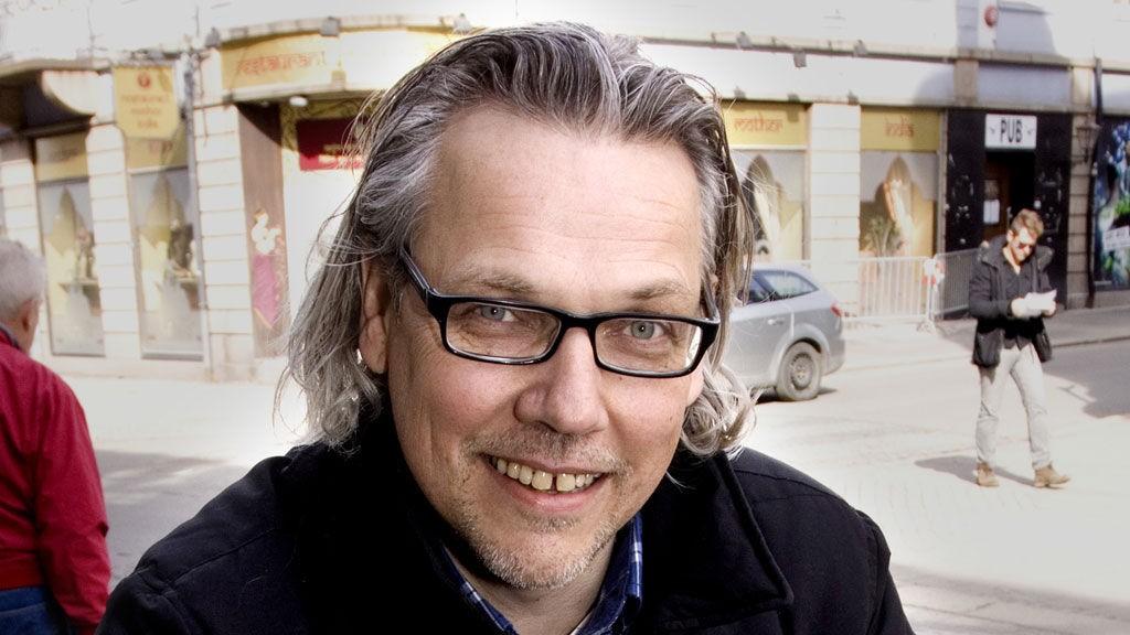 Ansvarlig redaktør i Demokraten, Tomm Pentz Pedersen.