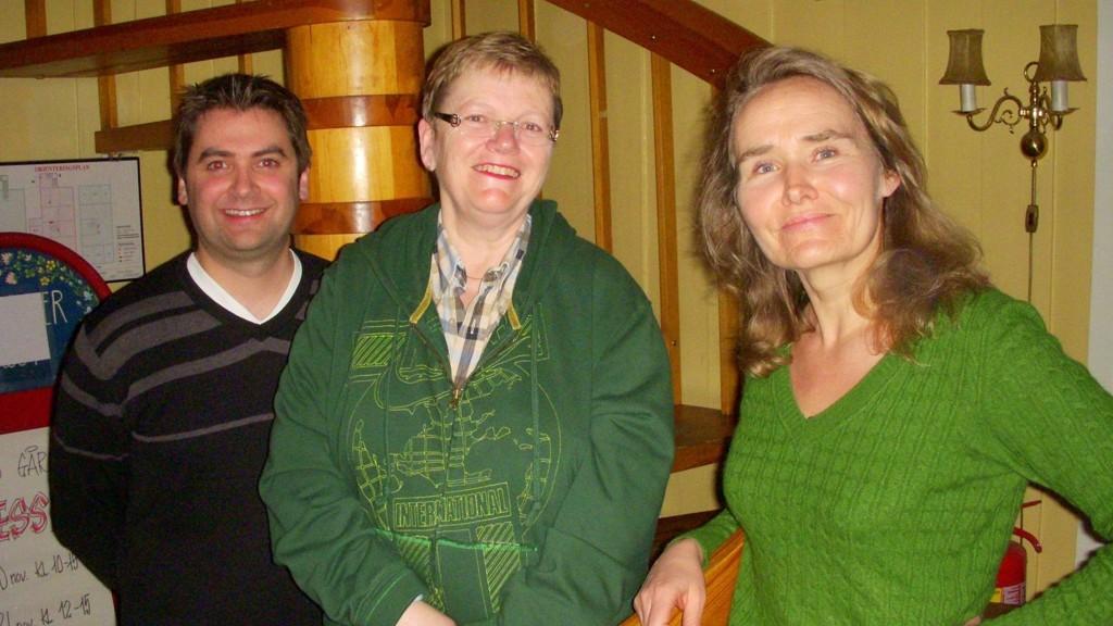 Kristin Sandaker (t.h.) topper APs liste til bydelsutvalget i Østensjø. På andre- og tredjeplass følger Pål Einar Røch Johansen og Liv Thorstensen.