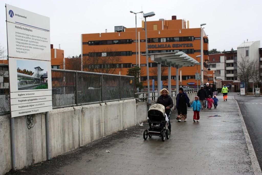 Kollektivtilbudet på Holmlia oppgraderes. FOTO: Arne Vidar Jenssen