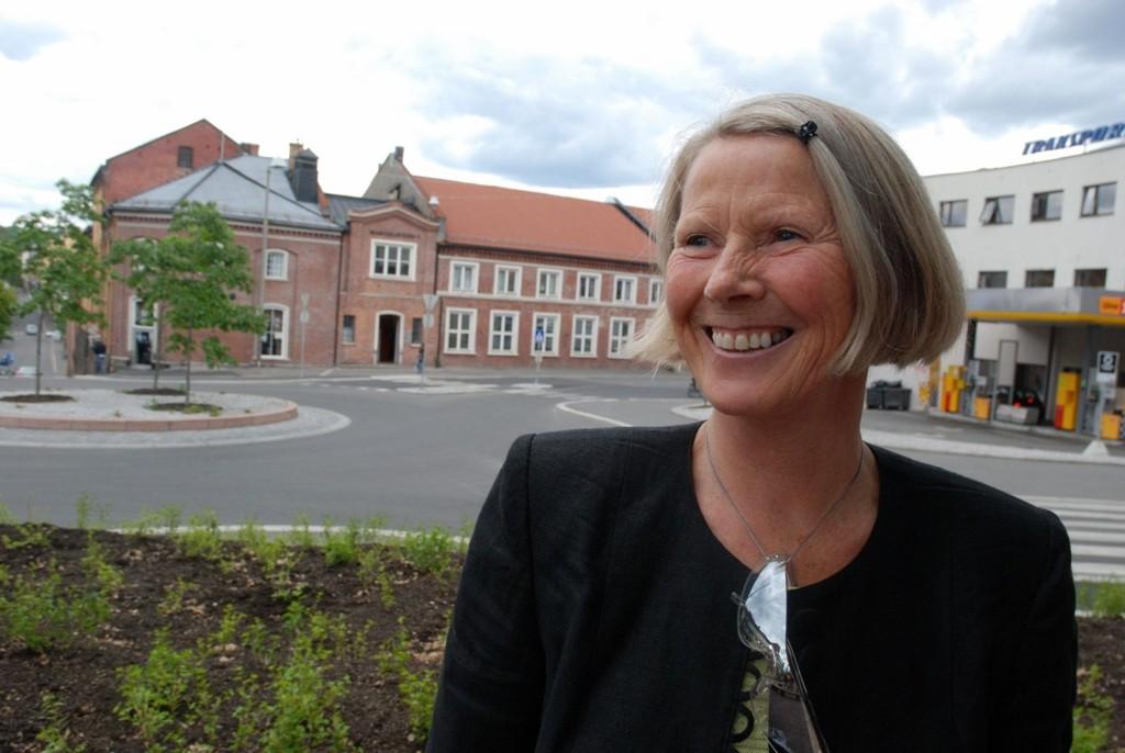 Tidligere byråd Grete Horntvedt måtte ha del av Overkommandoens tomt som erstatningsareal.