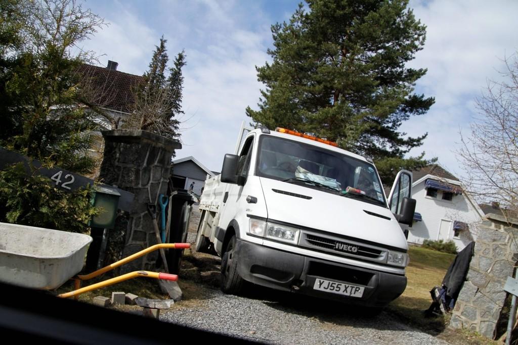 Utenlandske asfaltarbeidere er allerede på plass.