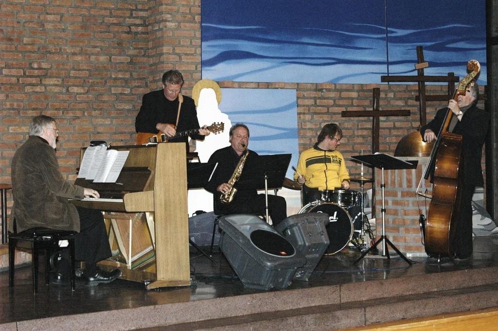 The Real Fake Band spiller opp i Lambertseter kirke klokken 19.30 2. påskedag.