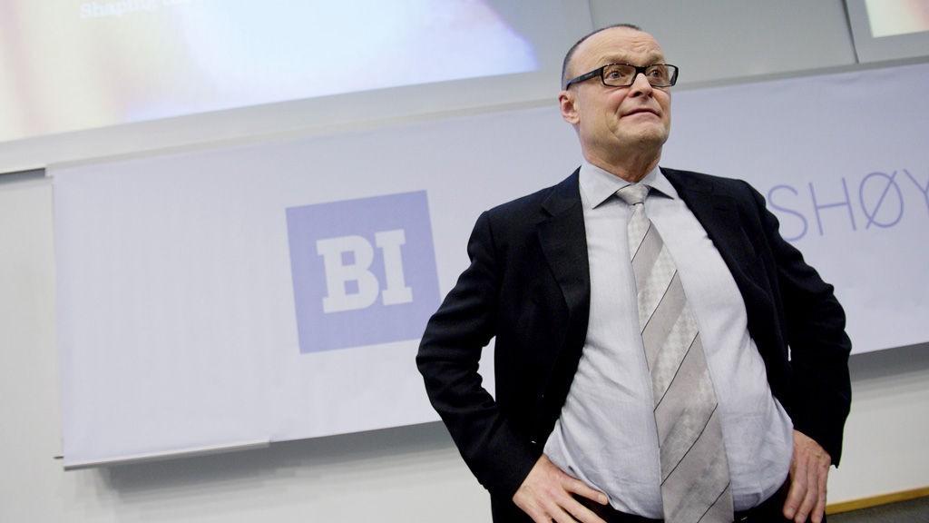 REKTOR: BI-rektor Tom Colbjørnsen.