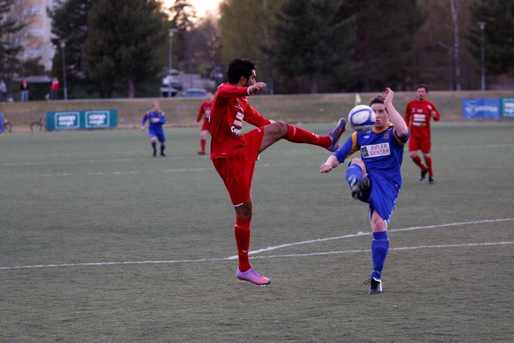 Zesshan Ilyas scoret kampens eneste mål på et frispark fra hjørnet av 16-meteren.
