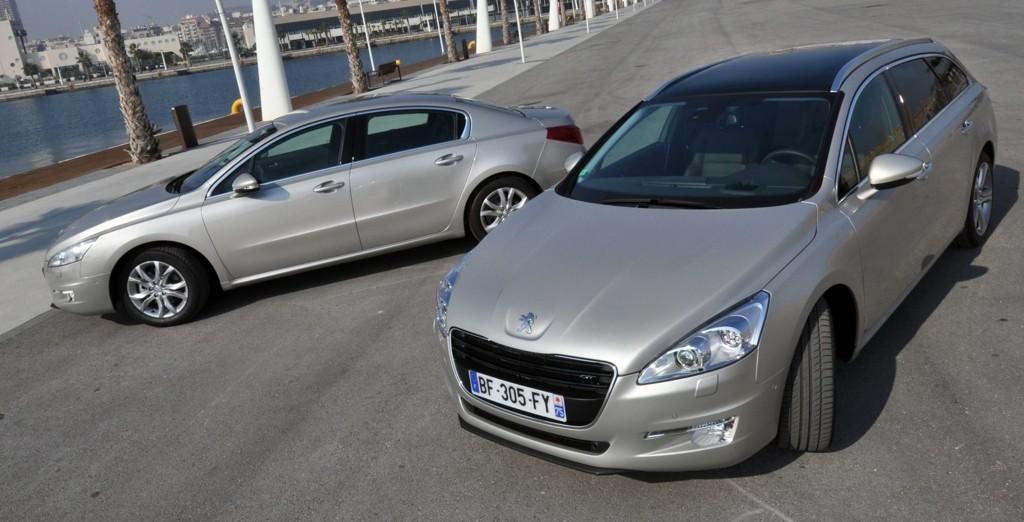 Peugeot 508 laster hele familien