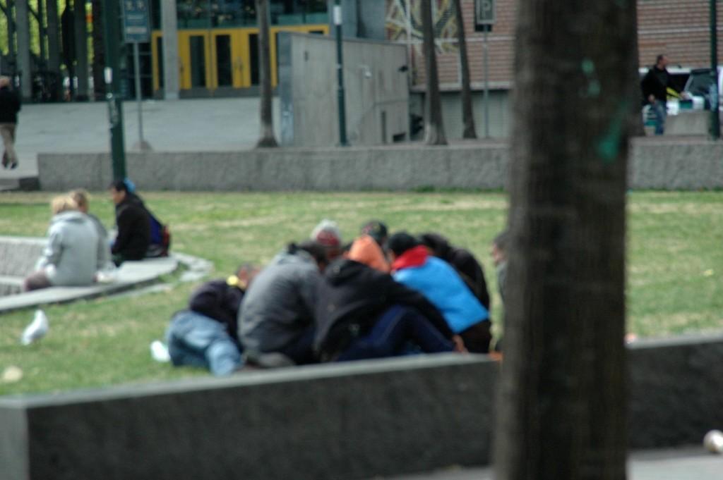 Her på Vaterland holder mange av de forsvunnede barna fra asylmottak til.