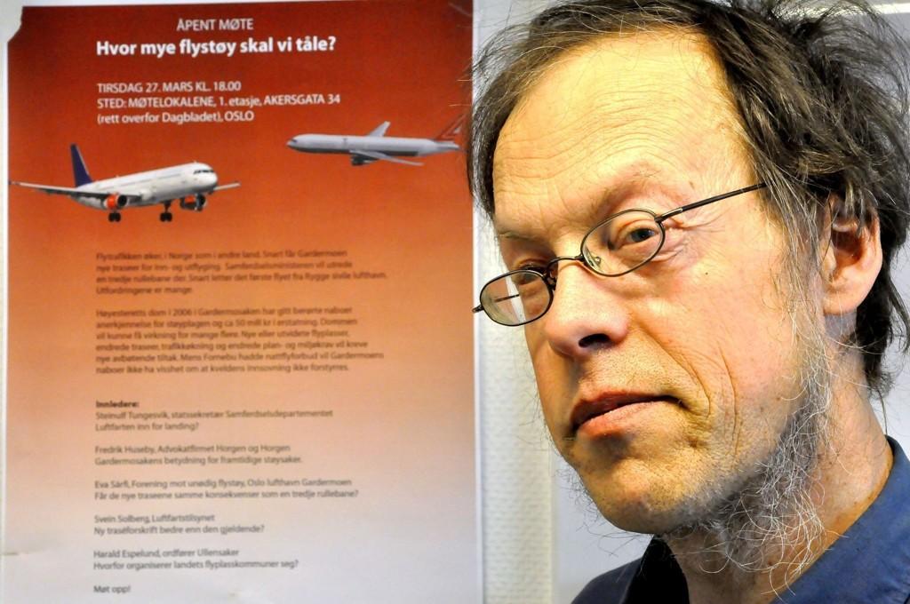 Rådgiver i Norsk forening mot støy, Pål Jensen, håper på forminsket støymengde i Groruddalen.
