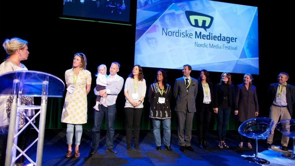 Åpningen av Nordiske Mediedager i Bergen.