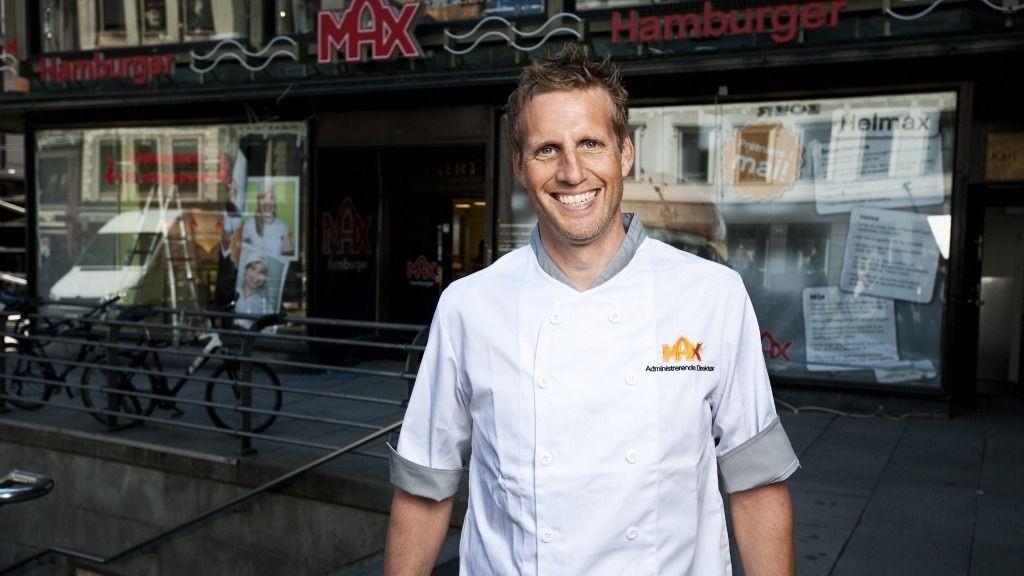 Administrerende direktør Børre Halvorsen i MAX sliper kniven for å gå i konkurranse med MacDonalds og Burger King. I dag åpner han den første MAX på Karl Johansgate.