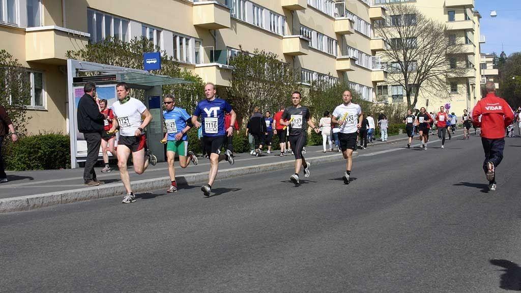 Holmenkollstafetten i Oslo, Bislett 2010