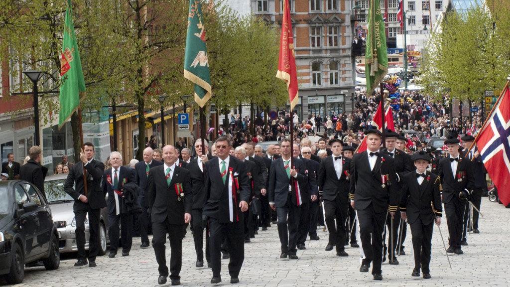 17. mai feiring i Bergen.