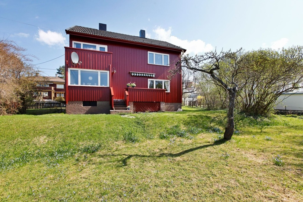 Mange var villige til å gå langt for å kloa i denne tomannsboligen i Sinsen Hageby.