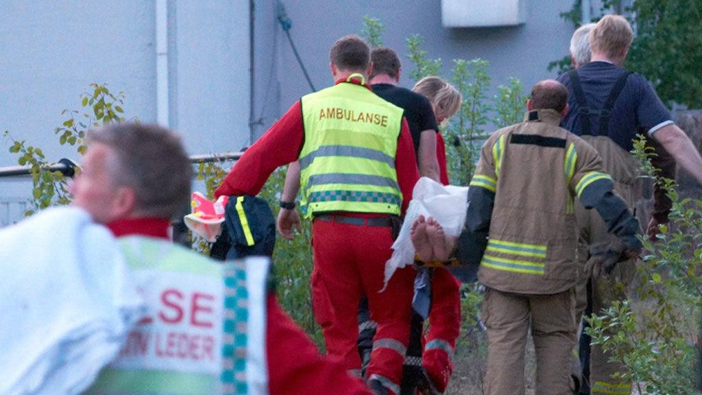 NEDKJØLT: Mannen skal ha vært sterkt nedkjølt og ble kjørt til sykehus da han ble funnet.