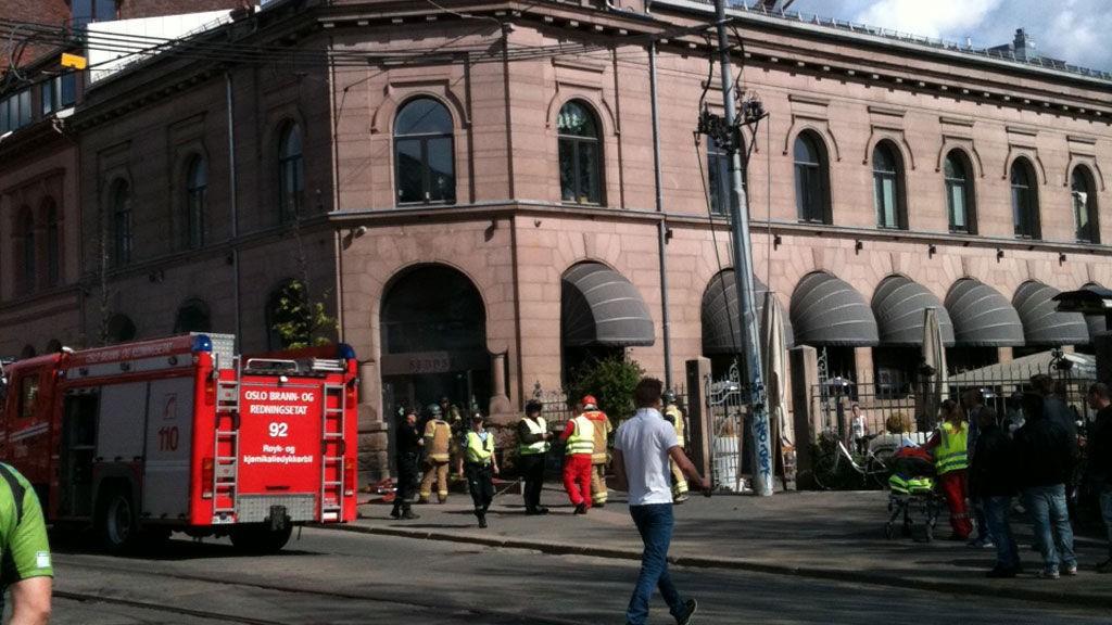 Det brøt ut brann ved restauranten Südøst i Oslo.