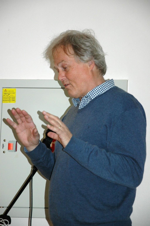 ENGASJERT: Ole Falk Fredriksen i Civitas, som jobber med utbyggingen av Bryn Senter.