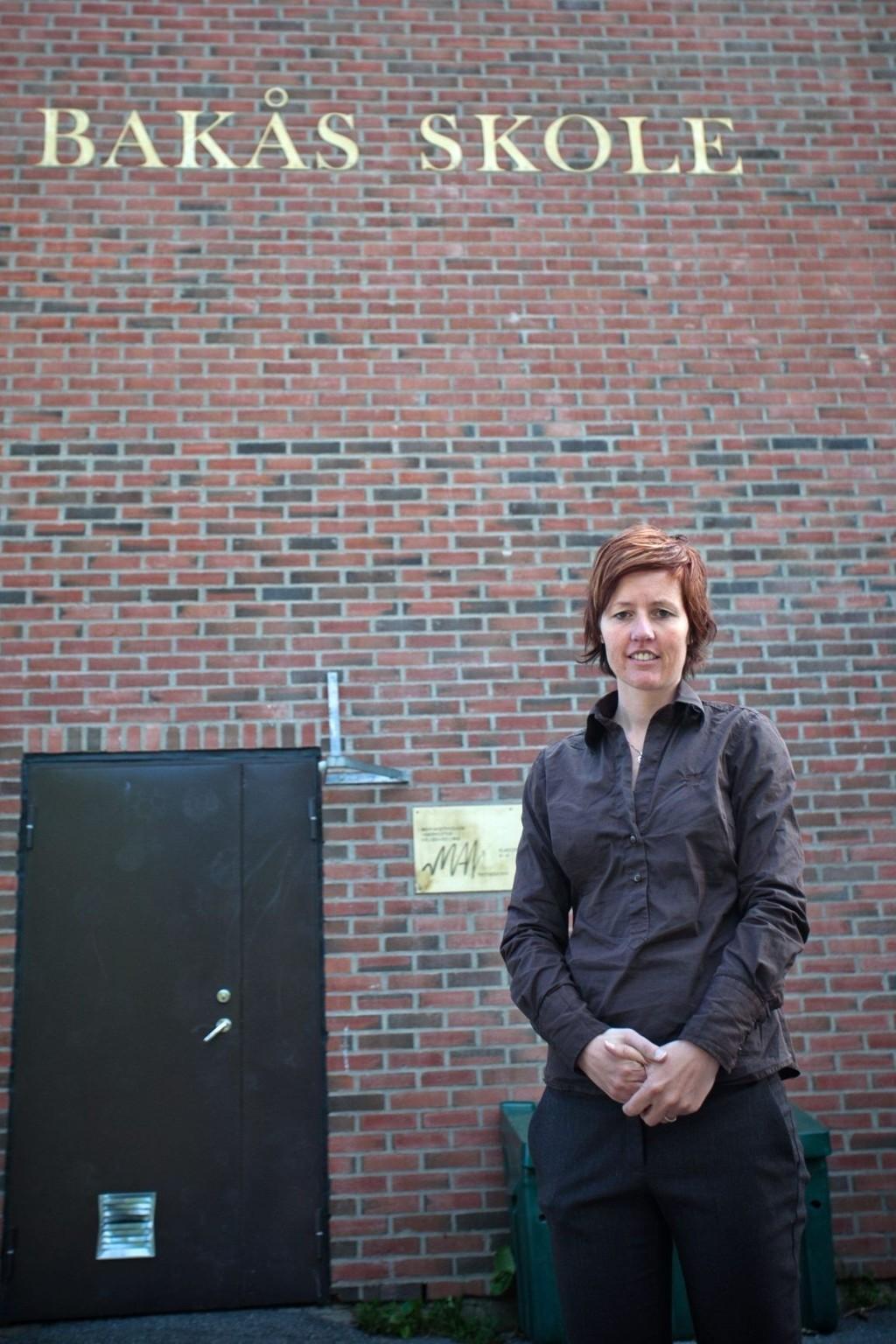 FULLT PÅ BAKÅS: Det er ikke plass til flere førsteklassinger på Bakås skole.