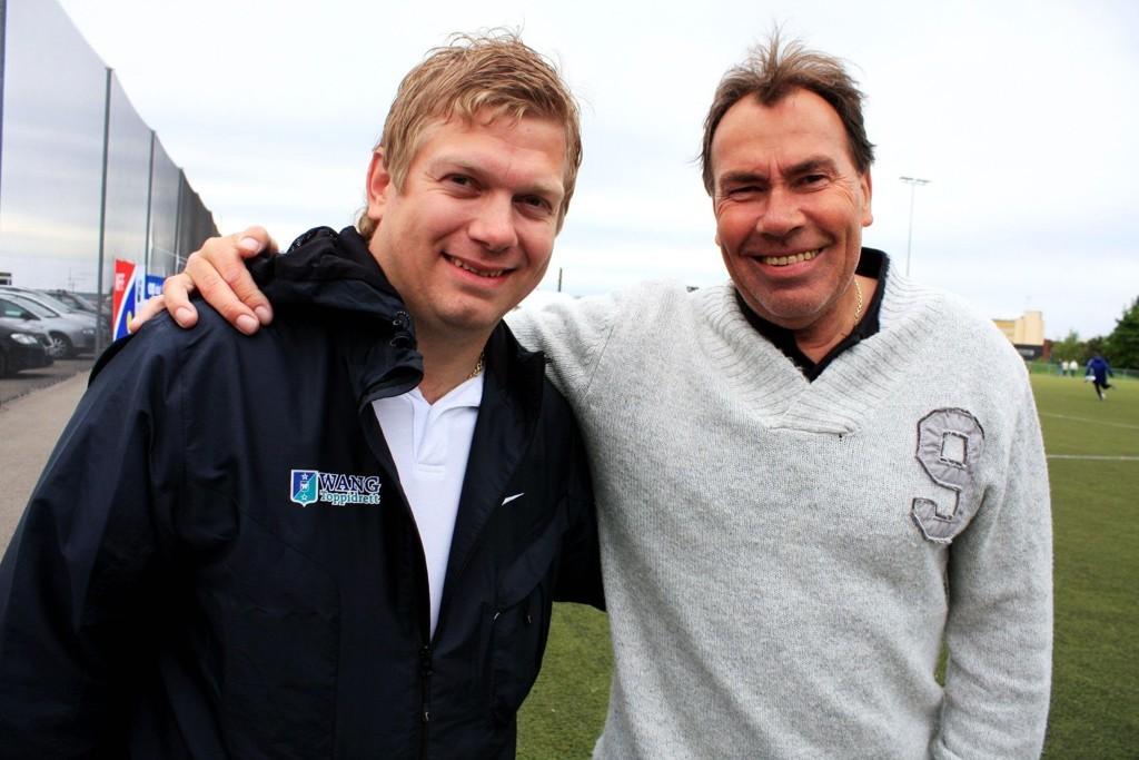 Tommy Lund (30) og Jim Marthinsen (55) gleder seg til å samarbeide i Hasle-Løren kommende sesong.