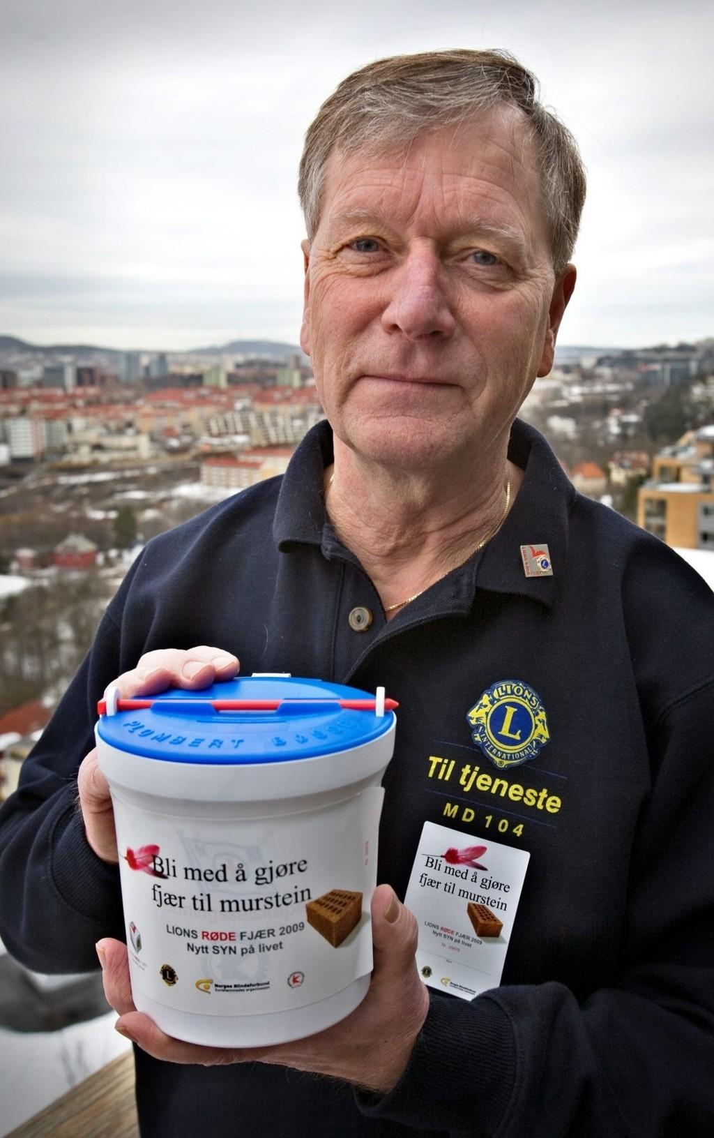 STARTER KLUBB:  Finn Helge Hartmann i Lions.