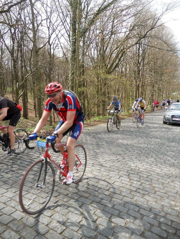 SK Rye ser ingen grunn til at syklister skal legge seg mange i bredden når de trener. Han synes innleggene på www.nab.no om Rye-syklister er forstemmende lesning.