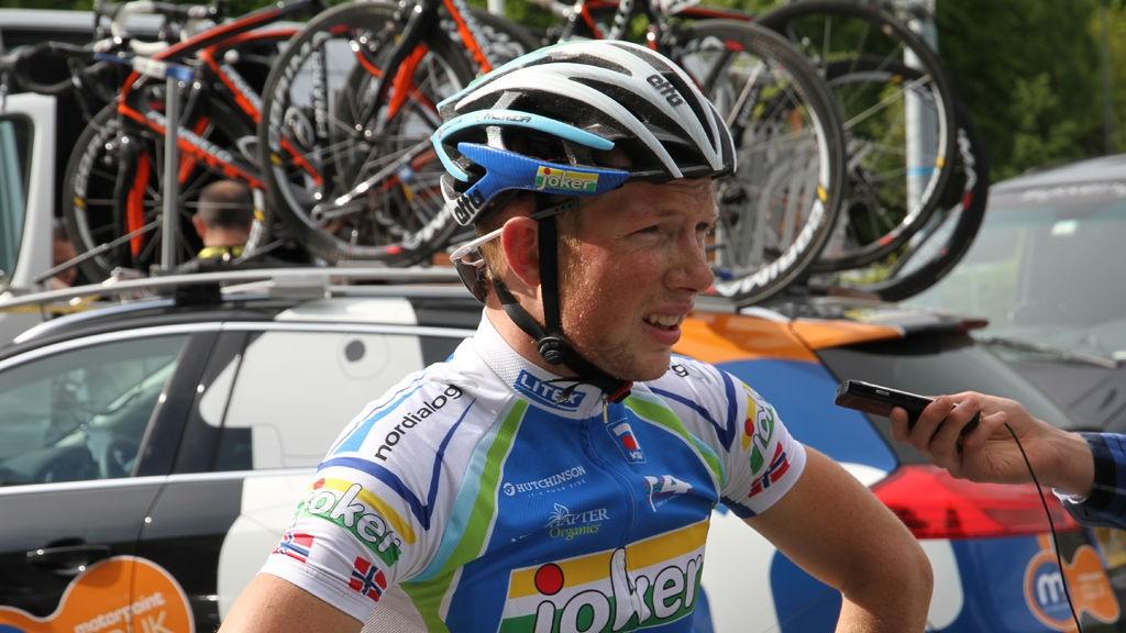 VBR etter første etapppe av Tour of Norway 2011.