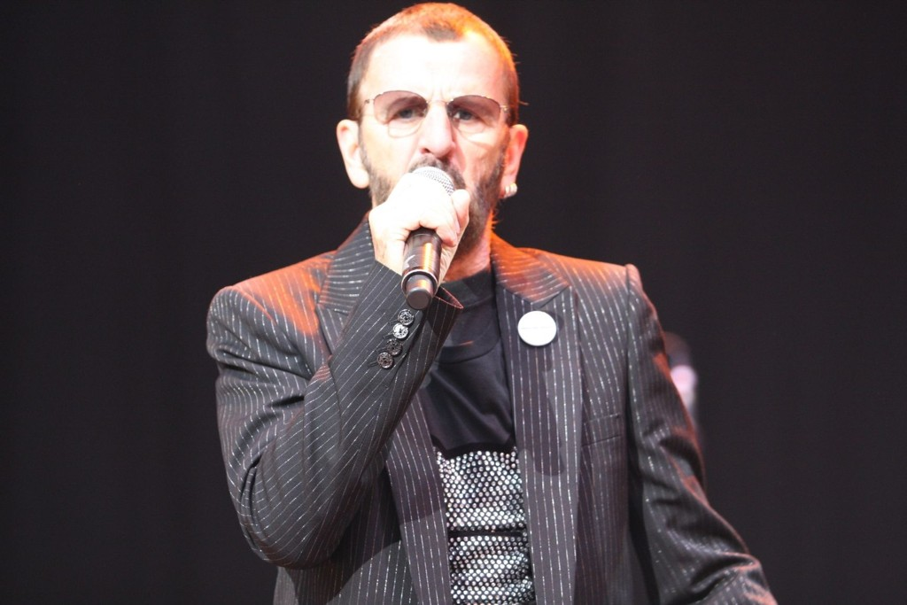 Ringo Starr hadde publikum ( i vært fall damene) i sin hule hånd under konserten lørdag.