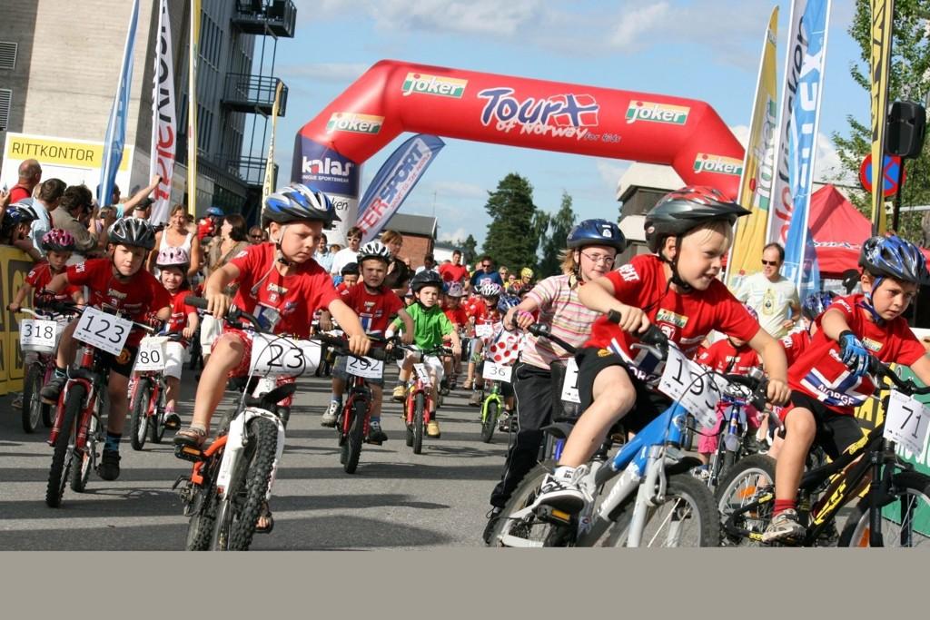 SYKKELFEST: Det blir sykkelfest på Rommensletta torsdag 30. junI. Her fra et tidligere arrangement.