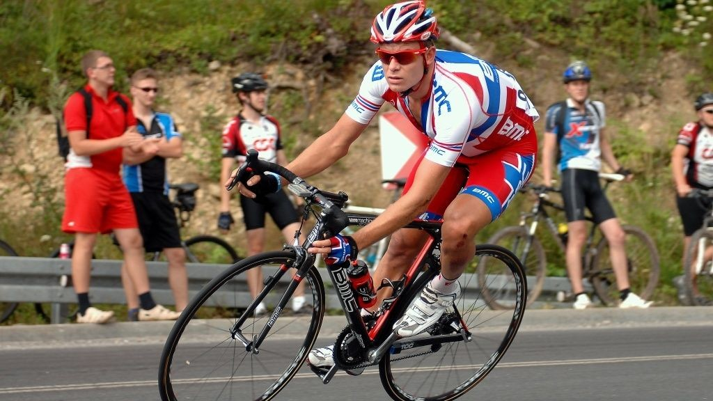 Alexander Kristoff (BMC) i norsk mestertrøye under Polen rundt