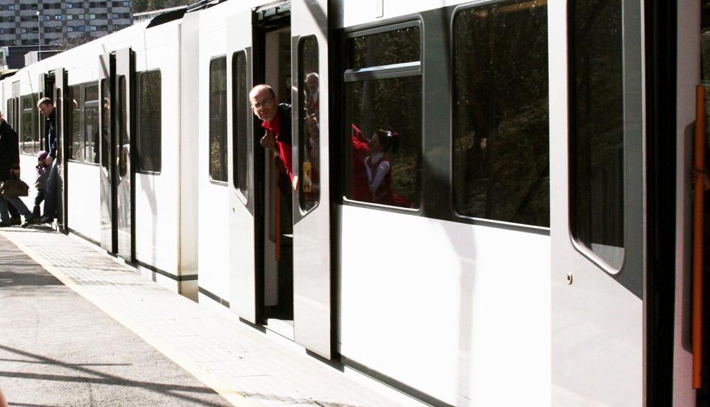 STOPPER IKKE ENNÅ: T-banen stopper ikke på Gaustad stasjon før i oktober. I mellomtiden går det buss mellom Gaustad og Majorstuen.