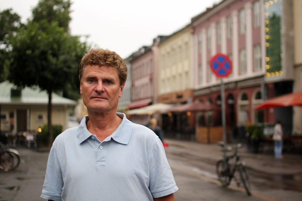 OFFER: Jens E. Lange og Grünerløkka Frp er blitt offer for e-posthacking. En svindler som utgir seg for å være Lange har tatt kontroll over lokallagets Hotmail-konto og ber folk om å sende penger.
