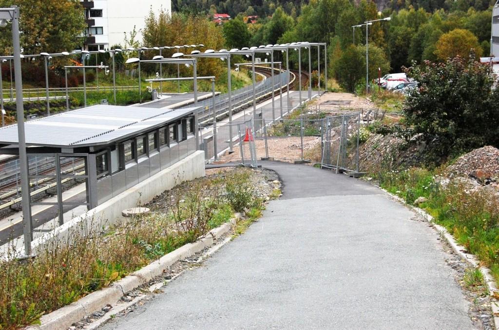 BRUTALT: Ransofferet gikk via tbanen på Ammerud(bildet)og ned på gangveien langs Trondheimsveien.