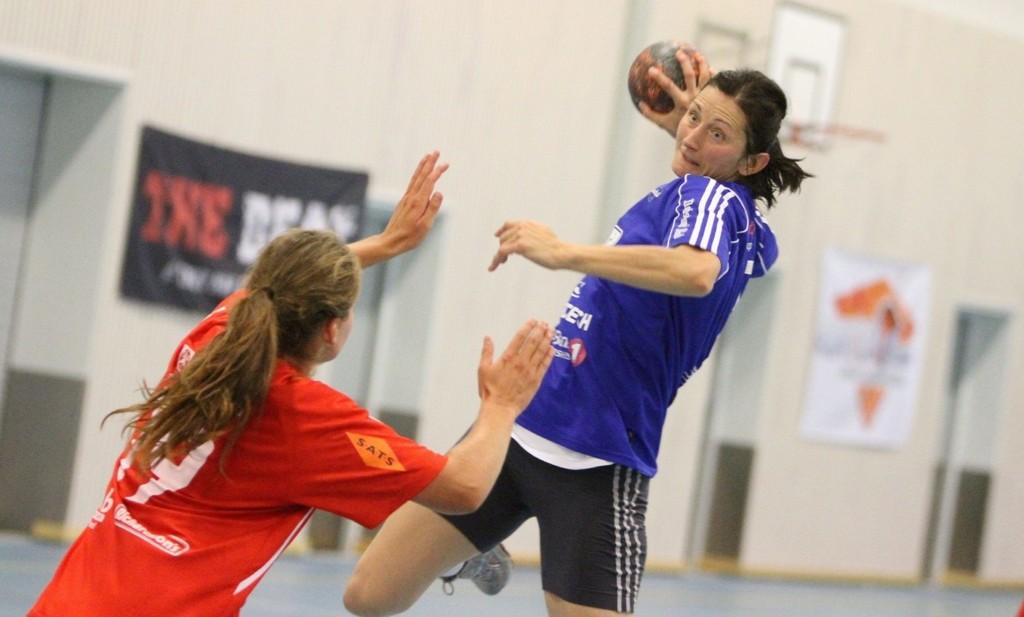 Sju mål: Izabela Duda scoret sju ganger mot svenske IF Helton i Vestli Cup.