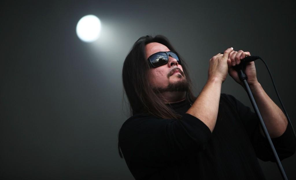 John Garcia sang, og gjorde ikke så mye annet under Kyuss Lives-konserten på Øya.
