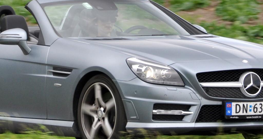 Kjøreglede er det som først og fremst kjennetegner SLK.