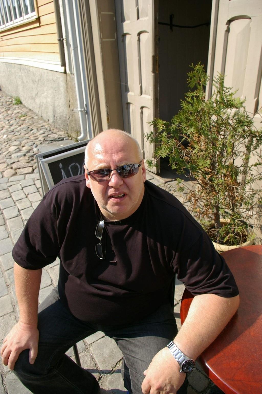 SINT: Hans Kristian Magnor er kjent blant mange langtransport-sjåfører som mannen som kjemper for en truckstop i Oslo. Han mener det er tragisk at Oslo ennå ikke har fått orden på problemet.