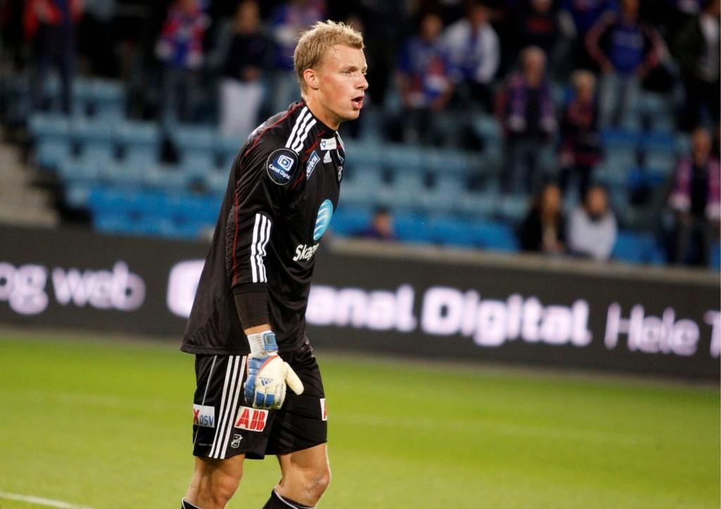 André Hansen (21) fra Årvoll leverte en god kamp da Odd Grenland slo Vålerenga på Ullevaal stadion onsdag kveld.