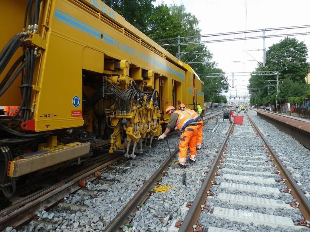Skinnearbeid stanser togtrafikken til og fra Oslo S fra lørdag til søndag.