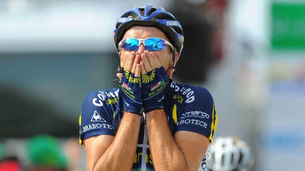 Borut Bozic vinner 5. etappe i Sveits Rundt