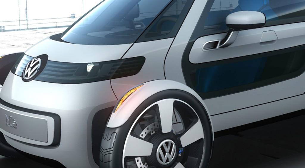 Nils heter dette enseters elkonseptet fra VW. En skikkelig egotripp.