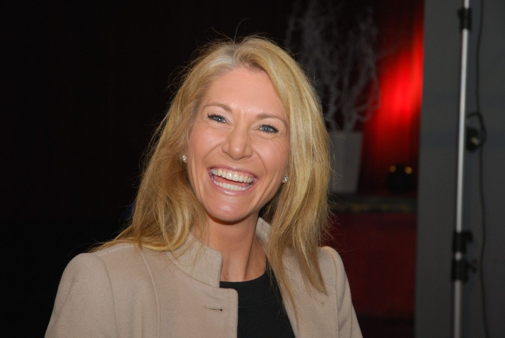 PÅ VEI INN? Julie Brodtkorb Voldberg er optimistisk på partiets vegne i Oslo, men har mindre tro på eget kandidatur.
