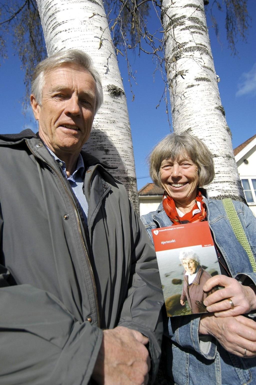 Fokus på demens: Olaf Engelhardtsen og Verena Dehli fra Vinderen Helselag.