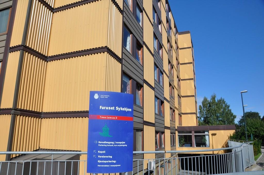 Får NYE HEISER: Furuset sykehjem er ett av fem sykehjem som får nye heiser til våren.