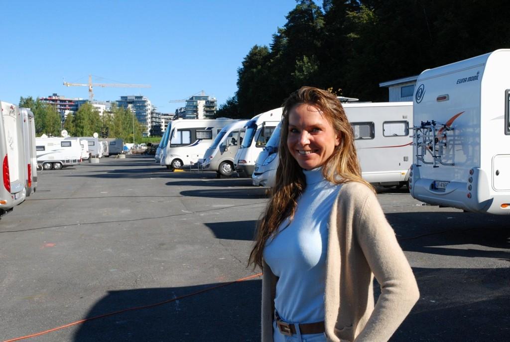Cathrine Aspestrand Furre vil erstatte bobiler med hester, paddocker og ridebane.