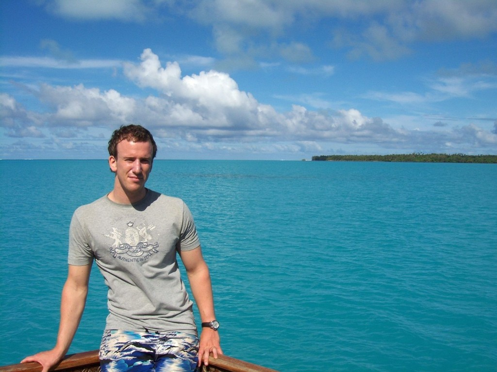FRISTENDE: Eksotiske steder som Fiji og Cook Island er fristende utfluktsmål for nordstrandgutten Mats Aasgaard og de andre studentene på New Zealand.