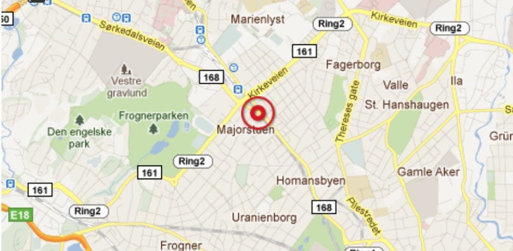 Klesforretingen Gunnar Øye i krysset Bogstadveien/Sorgenfrigata ble utsatt for grovt innbrudd natt til mandag.