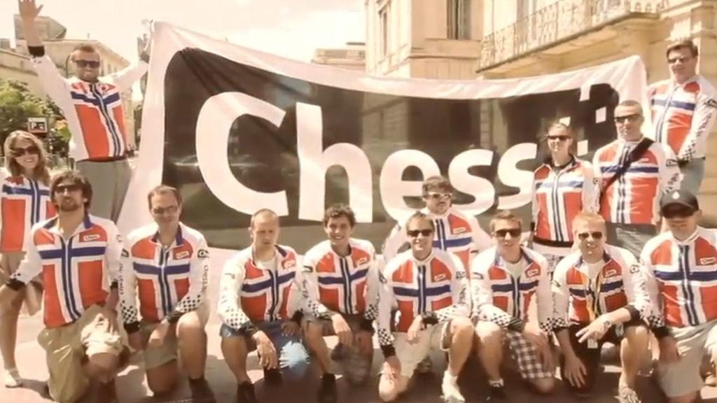 Chess først ut med 3D reklame i norge.