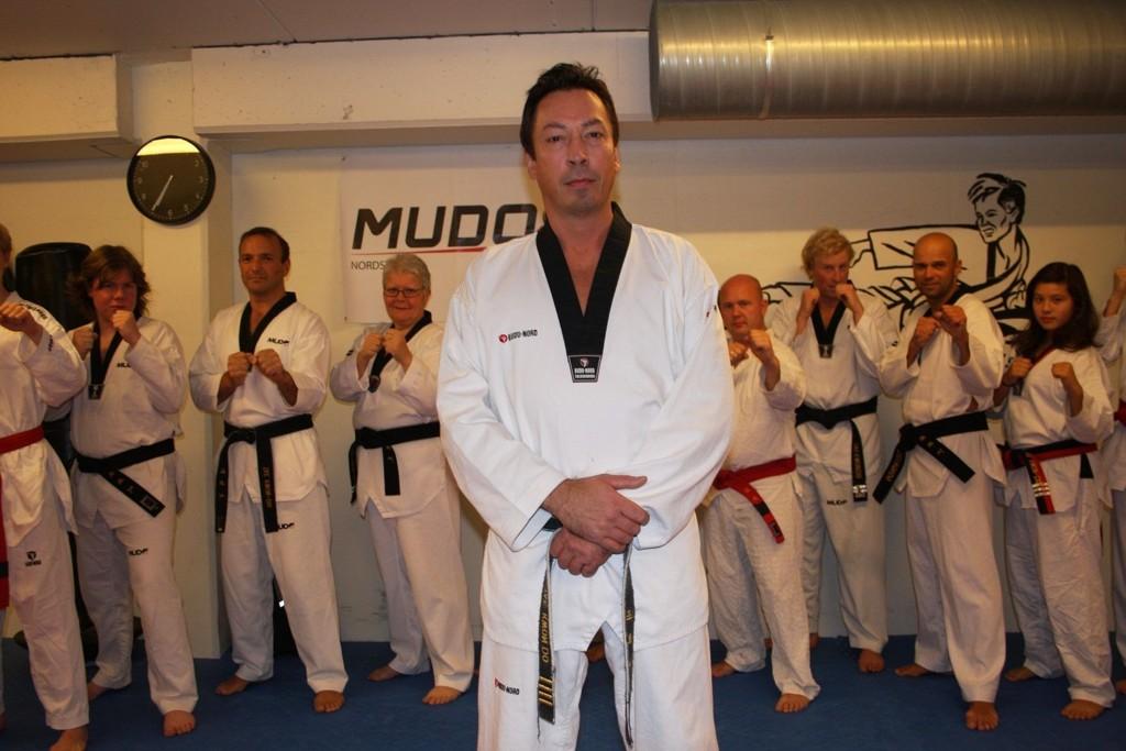 MASTER DRAGE: Morten Drage har tilbragt enormt mange timer i Mudo Nordstrands lokaler det siste året.