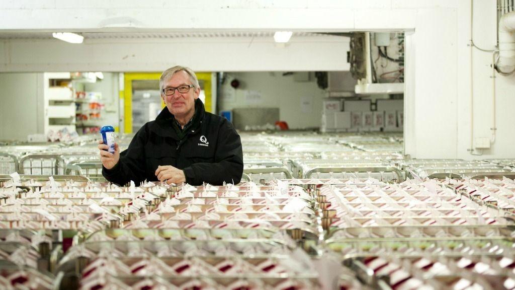 Satser i Sverige: Bent Myrdahl, administrerende direktør for Q-Meieriene.