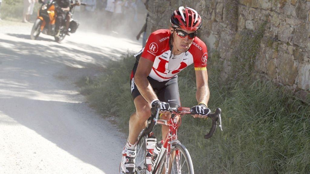Jaroslav Popovitsj Yaroslav Popovych Radioshack giro d'italia 2011 etappe fem 5