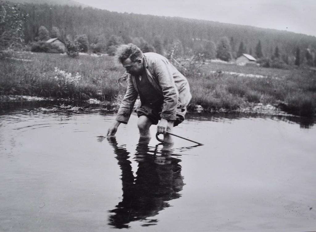 MIMRE: Oskar Braaten og hans skuespill «Ungen» er i fokus førstekommende helg på Hønse-Lovisas hus.