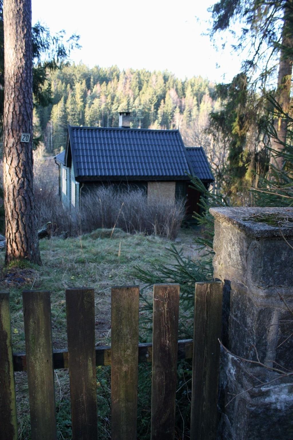 ENEBOLIG: Huset er regulert som enebolig, men er på 44 kvadratmeter.